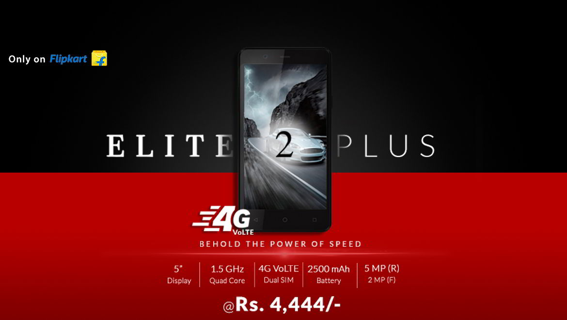 Elite 2 Plus: Latest Android Smartphone by Swipe Technologies