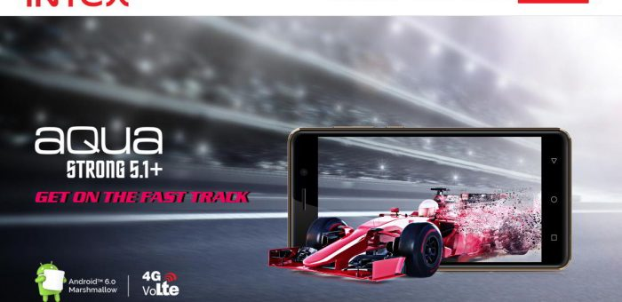 Aqua Strong 5.1+: Latest Android Smartphone from Intex Mobiles